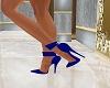 Jeweled Heels-Blue