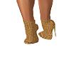 Nude Versace Booties