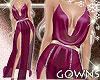 gown - sheer mauve