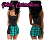 Black & Teal Dress RL