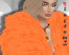 Orange Fur Coat