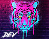 !D Tiger Neon Sign