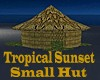 Tropical Sunset Hut