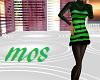 Green Striped Woolen