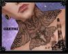 ۩ Tattoo Neck Owl /M