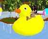 Rubber duckie float
