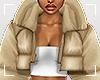 ṩPuffer Coat Tan