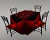 Black-Red Romance Table