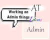 AT Admin Bubble