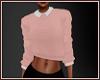 *N* Collar Sweater Pink