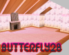 Pink butterfly room