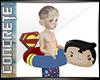 CON Superman Kid Float