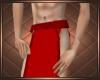Red Loincloth Short