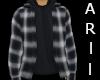 Grey Flannel Hoodie