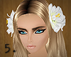 5. Big White Roses