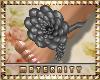 Grey Flower Feet TippyTo