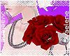Red Rose Epaulet