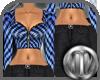 [MC] XXL Check Blue Fit