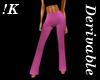 !K! Derivable Flare Pant