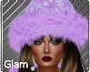Lilac Spirit Santa Hat