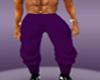 purple tux pants 2 -men