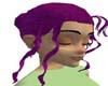 maroon hair updo