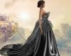 Beauty in Black Gown