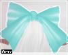 ♦ turqoise bow