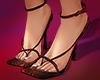 . brunt red heels