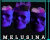 ♆ H19 Skulls&Crystals