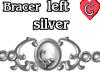 Bracer1 Silver LEFT