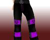 Purple Toxic Raver Pants
