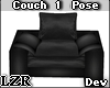 Black Couch 1 Pose