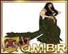 QMBR Cloak Emerald Gold