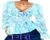 PBF*Classy Baby Blue Top
