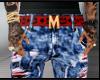 Ripped Shorts x Mcm