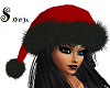 Red & Black Santa Hat