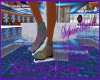 Mult Color Purple Glitte