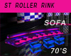 ST ROLLER RINK SOFA 70s