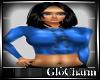 Glo* MsMidriff~ Blue