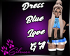 Dress Blue Love GA