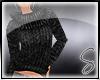 [Sev] Knit Sweater Black