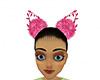 Pink xmas girl ears