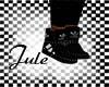 J adidas Black shoes