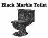 BLACK MARBLE TOILET