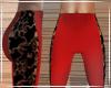 Red Leggings / Lace LRG