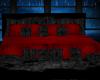 Black n Red Poseless Bed