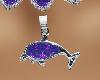 Purple diamond dolphin