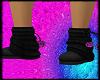 Pink & Black Uggs