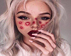 Pink Heart Club -canvas